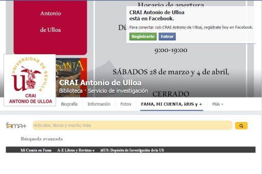 FacebookCRAIServiciosImplementados